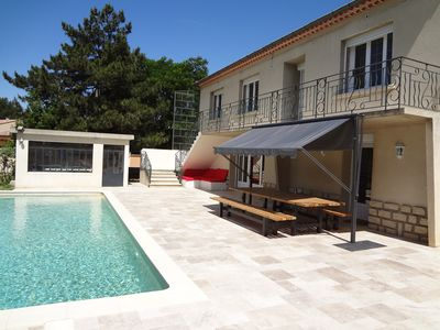 Photo for ⚠️ Villa *** 240m² - Heated pool  - Provence - 10 people (Ventoux) ⚠️