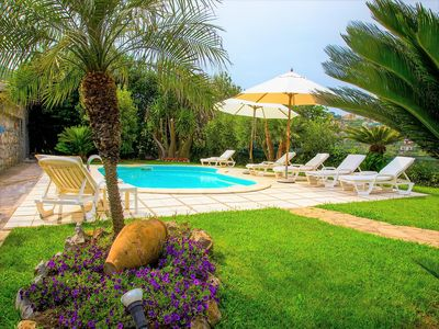 Photo for Charming detached villa with exclusive of the pool near Sorrento and Positano