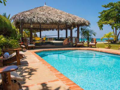 Photo for Beautiful beachfront villa on picturesque Bengal Beach in a gated community