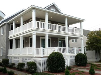 Photo for Beautiful, Spacious, Well Stocked!1.5 blocks to Boardwalk.12th & Wesley 1st Fl