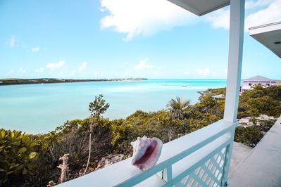 View of The Bahama  Banks.Fron Sanddollar Cottage.