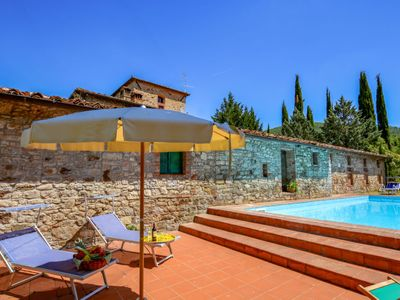 Photo for Vacation home Il Molino in Gaiole in Chianti - 9 persons, 5 bedrooms