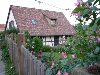 Photo for Timbered house of the 18th century in a beautiful English garden near Saverne