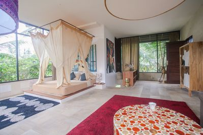 Dreamy Treetop Loft in the Rice Fields!