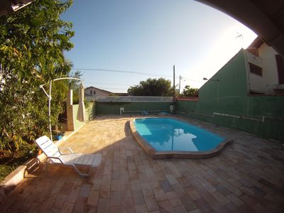 Photo for Large house with pool, 800m from the beach