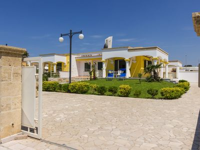 Photo for At 200mt from the beautiful beaches of Pescoluse, 2/5 beds