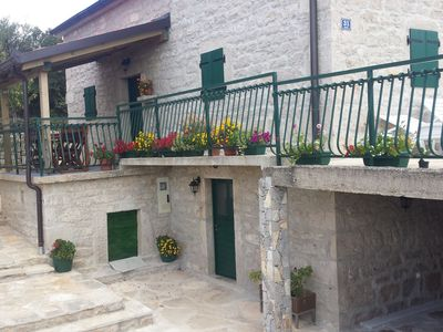 Photo for Elegant Holiday Home in Cetina Dalmatia with Garden