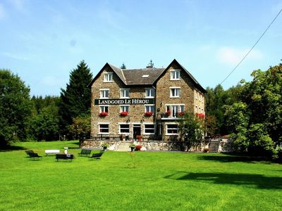 Photo for 14BR Country House / Chateau Vacation Rental in La Roche-en-Ardenne