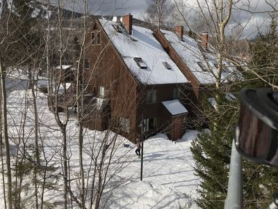 Photo for Ski in /Ski out condo. Great location w/ lift and trail outside your door!