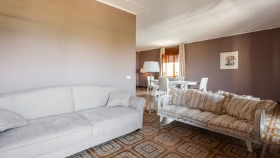 Photo for Spacious apartment on the first floor, shabby chic style