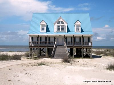 Photo for Large, Spacious Bayfront home on own private beach, yetalso  near Gulf beach