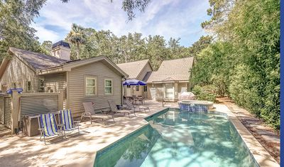 Photo for 9 Black Skimmer -Beautiful & Spacious, 4th row ocean w/ private pool.