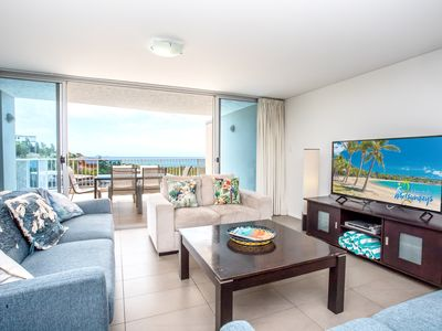 Photo for ❤️OCEAN VIEWS AZURE, 2 POOLS,WIFI, GYM,CENTRAL❤️