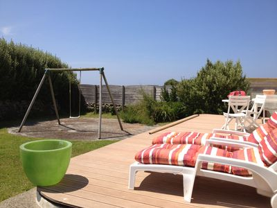 Photo for House sea view with terrace and garden