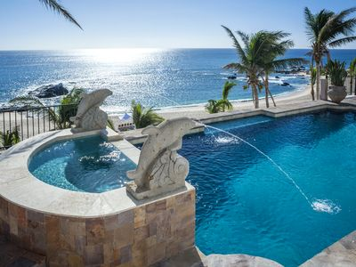 Photo for Beachfront Villa on The Private Palmilla Beach.