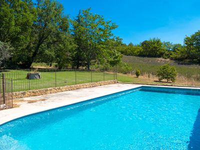Photo for Old Provencal mas with pool in Lourmarin in Southern Luberon