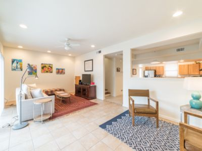 Photo for 3 bed, 2 1/2 bath townhouse filled with art near downtown and rail yards
