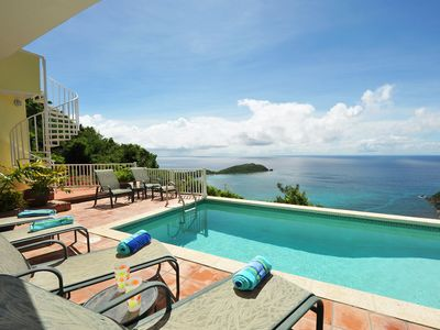Photo for One Love - A stunning villa w/gorgeous views & great privacy. Pool, A/C