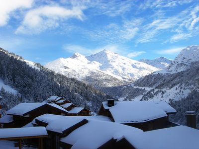 Photo for Meribel,on the slopes, Beautiful and spacious apartment in a 4* residence,12per