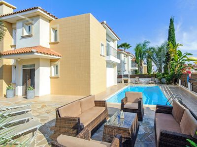 Photo for ARTEMIS - 3Bed Luxury Villa within walking distance to Fig Tree Bay