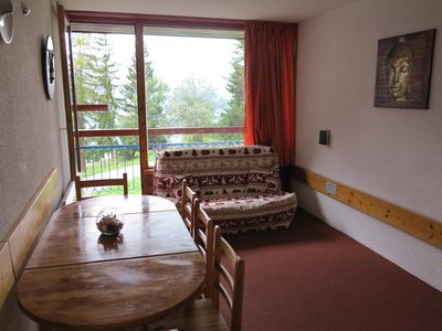 Photo for studio sleeps 5 at the foot of the slopes, center of the station building lau