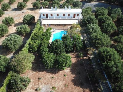Photo for APARTMENT family friendly - Swimming Pool - large garden with  sofas.