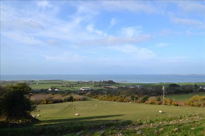view from house onto Tralee Bay
