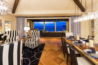 Fabulous Great Room and Dining Room with stunning views...
