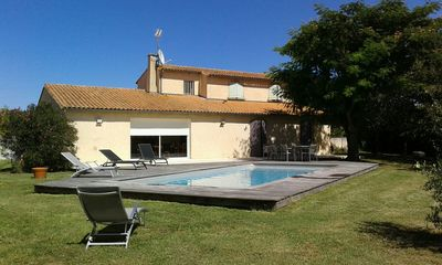 Photo for VILLA RENOVATED OF 200 M2 WITH SWIMMING POOL 4 ROOMS VAUX / SEA
