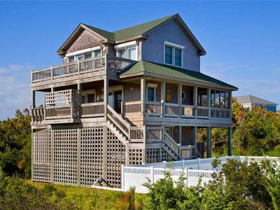 Photo for Irresistible Oceanview Home, Waves-Pool, Hot tub, Game Rm, Walk to Barton's Hole