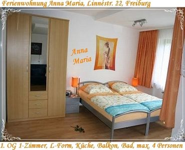 Photo for Beautiful apartment in Freiburg, old town 3 km, main station about 4 km, WiFi, Seepark