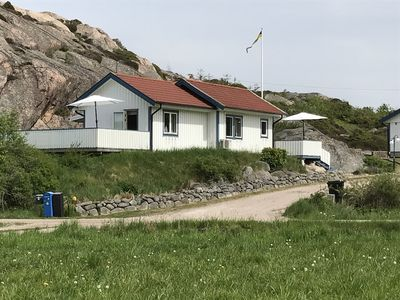 Photo for 50 m2 well-equipped cottage near the sea, the Soten Canal and a unique nature reserve.