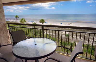 5th floor DIRECT oceanfront condo in desirable Captain's Walk at Palmetto Dunes!