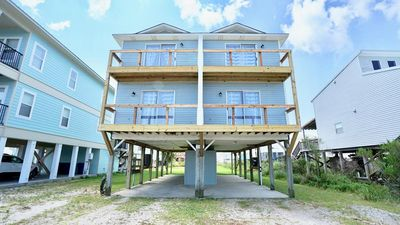 Photo for PET FRIENDLY!!! EAST SIDE OF PRIVATE DUPLEX, NEW LUXURY DECOR, PRIVATE BALCONY - BEACHBALL PROPERTIES