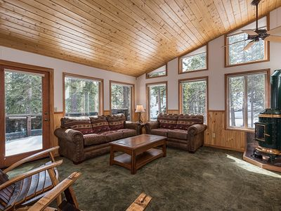 Photo for Moline: 4 BR / 3 BA house/cabin in Carnelian Bay, Sleeps 8