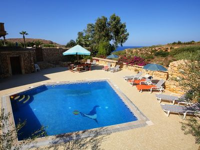Photo for Villa Homedes: Breathtaking Country & Sea Views With Private Pool
