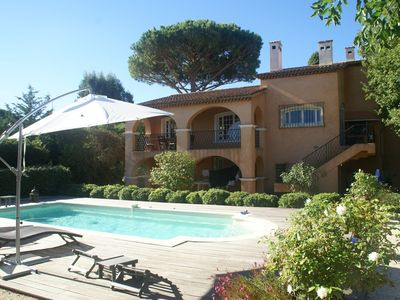 Photo for Very charming detached villa with private pool in Saint-Tropez!