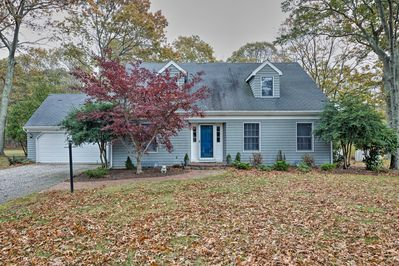 Discover a classic Cape Cod retreat at this vacation rental home in East Marion!