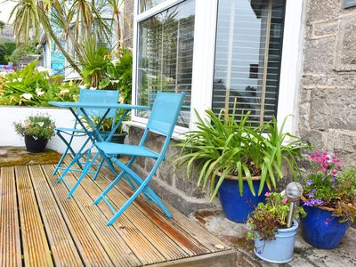 Photo for Cornish Pearl. St Ives. Spacious three bedroom cottage 400 yards to the beach