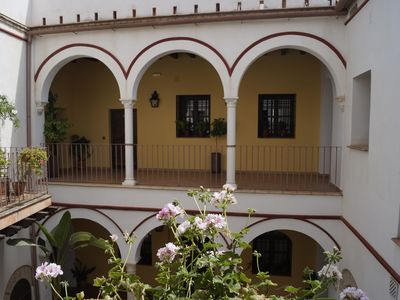 "Photo for Luxury penthouse with terrace, swimming pool and wifi , next to the "" mezquita """