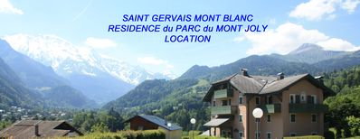 Photo for Nice apartment, very beautiful view on the mountains of MONT BLANC and Mt JOLY