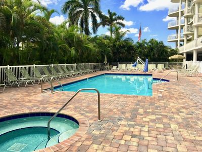 Photo for Steps To The Beach! Two Lovely 2BR/2BAs, Pool, Hot Tub, Close To Attractions