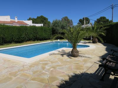 Photo for VACATION COMPLEX WITH TWO PRIVATE SWIMMING POOLS AND 1500M2 GARDEN NEXT TO THE SEA
