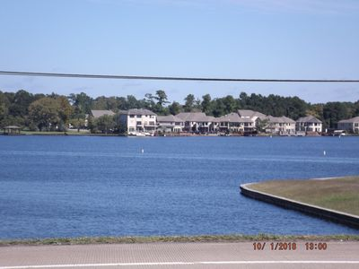Photo for Come relax in our cozy home,right off the Beautiful Lake Conroe!