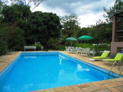 Photo for Farm with pool and fireplace in Guararema