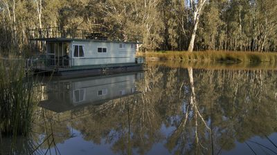 Photo for Billabong Lodge - permanently moored houseboat