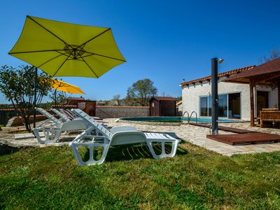 Photo for Family friendly villa Jadranka with pool and large garden