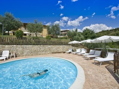 Photo for 1BR Apartment Vacation Rental in Poggio San Dionisio Valfabbrica, Umbria