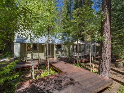Photo for Sunnywood: 1  BR, 1  BA Cabin / Bungalow in Tahoma, Sleeps 4