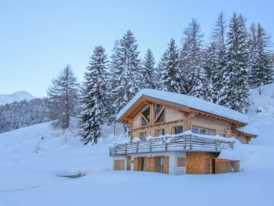 Photo for Chalet Scherpie - a luxury five-bedroom, five bathroom chalet with sauna & views